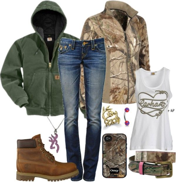 """Outfit for Today:)"" by backwoods-princess ❤ liked on Polyvore ~~Country fashion~~:"