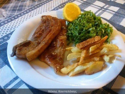 Συνταγές! Λάκης Κουταλάκης: Τηγανιτή πανσέτα στο κρασί