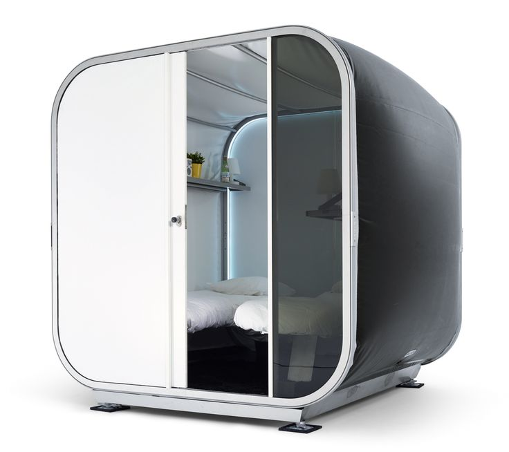 SNOOZY Temporary Sleeping Unit AirClad, Fast Architecture, Belgium
