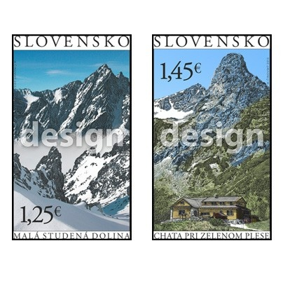 Krásy našej vlasti to je motív ktorý bude v septembri  figurovať na slovenských poštových známkach s nominálom 1,25€ a 1,45 €.