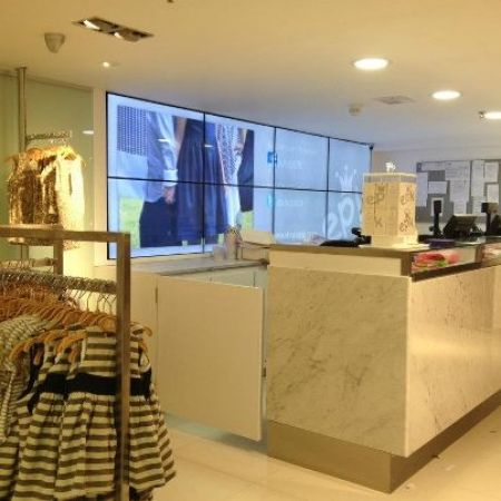 Retail stores are implementing Digital Signage screens in all sizes to promote sales and provide its customers with up to the minute product information