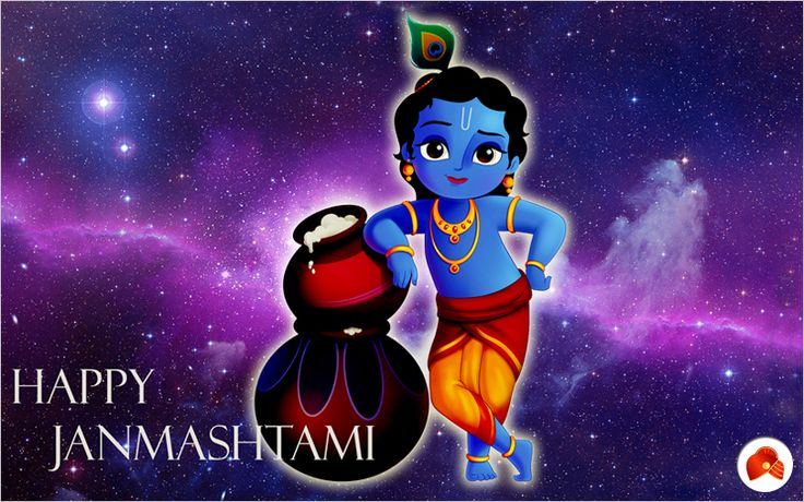 Celebrating the birth of our beloved Lord Krishna!