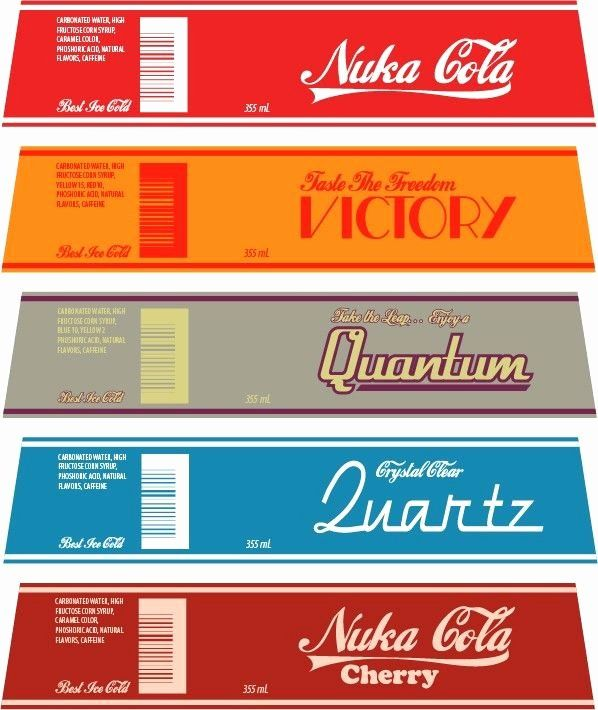 Nuka Cola Quantum Label Template Luxury My Homemade Nuka Cola Collection Imgur Fallout Props Nuka Cola Quantum Fallout Theme