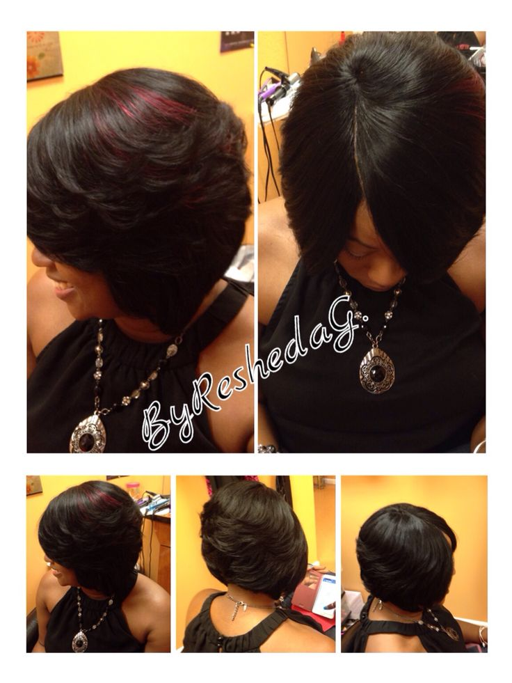 67 best hairpassionbyresheda images on pinterest stylists quick quick weave bobwith invisible part pmusecretfo Images