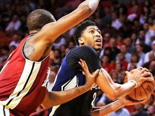 Blog Esportivo do Suíço:  Chris Bosh supera Anthony Davis, e Heat vence Pelicans na prorrogação