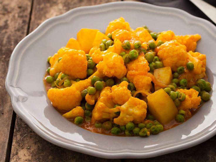 Curry di patate e cavolfiore