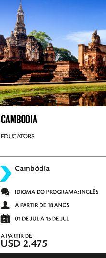 Programa de Cidadania Global para Educadores no Cambodia