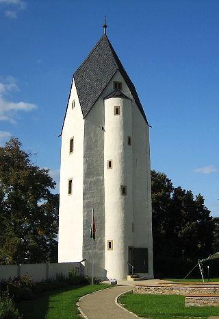 Černá věž (Black Tower) in Drahanovice (North Moravia), Czechia