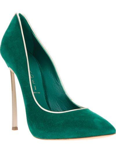 CASADEI Sapato Verde. | VI 16072013 | Pinterest | Sapato ...