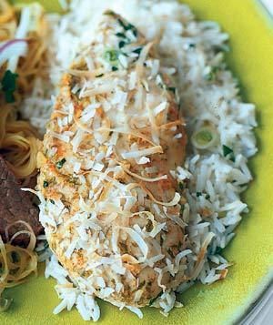 Coconut Chicken and Rice recipe