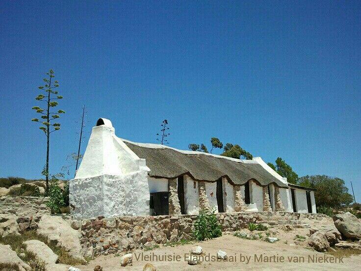 Vleihuisie (Little house on the swamp) Verlorenvlei Elandsbaai Weskus South Africa. Photograph by Martie van Niekerk