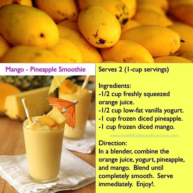 Papaya Pineapple Smoothie Weight Loss