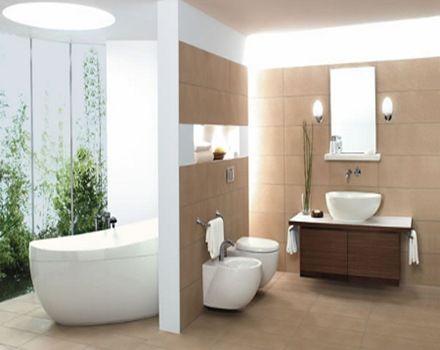257 best images about ba os modernos modern bathrooms on for Revestimiento banos modernos