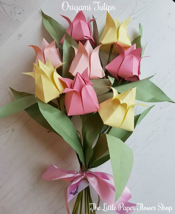 Handmade Origami Flower Bouquets At Www Facebook Com