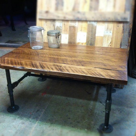 Black Pipe Kitchen Island: 63 Best Black Iron Pipe Furniture Images On Pinterest