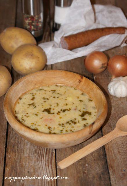 moje pasje: Zupa ziemniaczana klasyczna