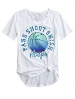 Basketball shirt from justice