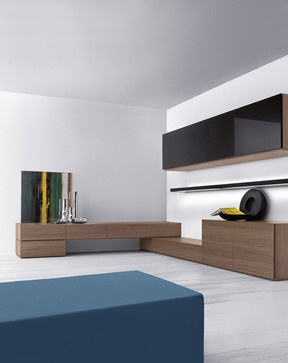 People Wall System 914 - modern - living room - chicago - IQmatics