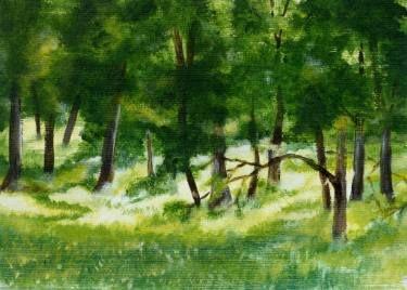"Saatchi Art Artist Doodie Herman; Painting, ""Bush Gold""  Acrylic #art"