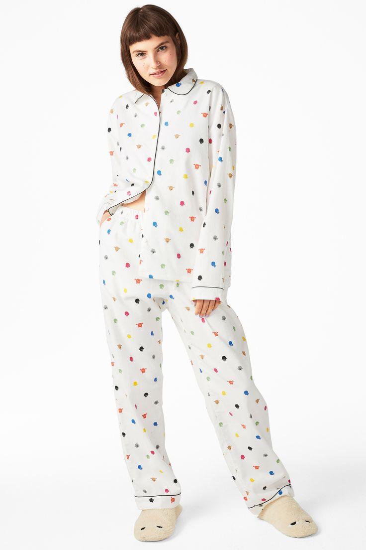 Flannel pyjama set