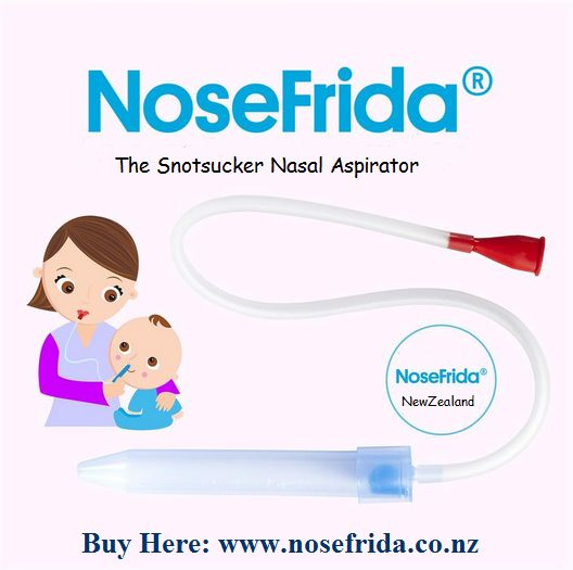 NoseFrida the Snotsucker nasal aspirator is the new standard in keeping babies naturally snot free.