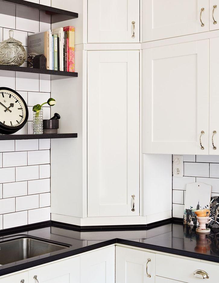 Tradisjonelt kjøkken - Studio hvit   Drømmekjøkkenet
