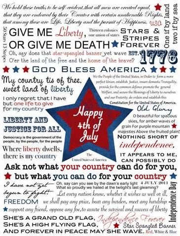 Happy Independence Day! Home - teacher1stop.com