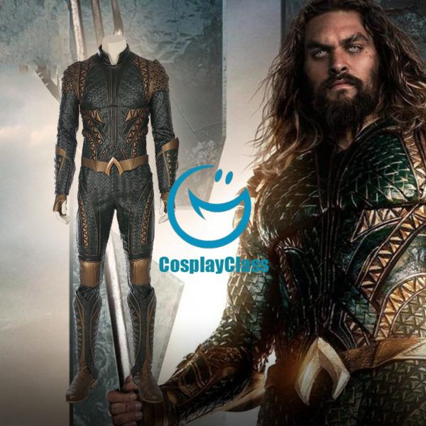 DC Comics Justice League Aquaman Cosplay Costume From Cosplayclass  #DComics #justiceleague #aquamancosplay #cosplayclass #costume