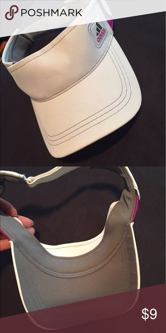 Adidas women's  visor In great condition. Worn once. Adidas Accessories Hats