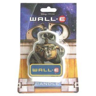 WALL E FLAT CANDLE