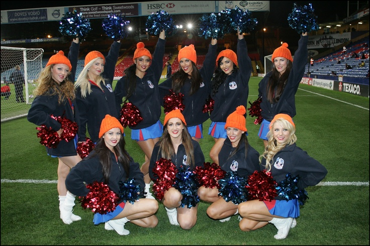 Huge thanks to the lovely Crystal Palace Crystals for helping us launch Woolly Hat Day 2011 before the match by donning our orange woolly hats. They must be a lucky charm as Crystal Palace went on to win the match 1-0!