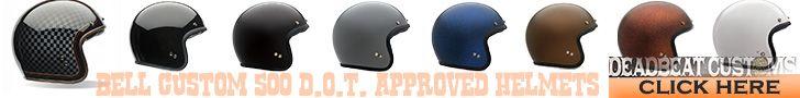 Bell Helmets  | Deadbeat Customs | Bullit Bell