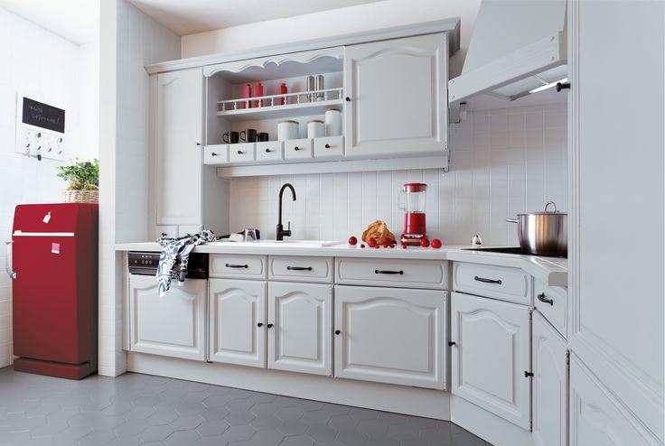 DESPUÉS Mi vida cambió con una pincelada. Esmalte Renovación Muebles de Cocina V33  http://www.v33.es/esmaltes-de-renovacion/renovacion-muebles-de-cocina,1224.html?&vars=cHJvZHVpdF9pZD0xMjAx