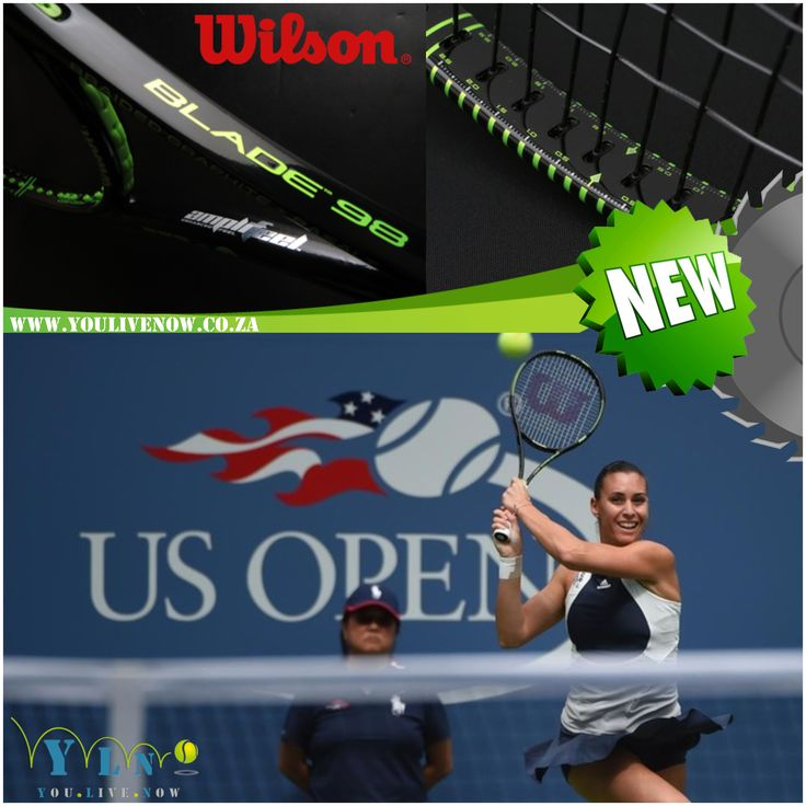 Order the tennis racquet Flavia Pennetta played with to win the GRAND SLAM tournament NOW for only R2,699.  Designed for big hitters looking to control their power, the Blade 98 18x20 dense string pattern provides classic control and a traditional feel. Upgraded with Parallel Drilling and Braided Graphite + Basalt construction to provide high performance and enhanced feel to dominate the competition.  Order the Blade 98 and receive a FREE tin of US open Tennis balls & Profile over grip (3…