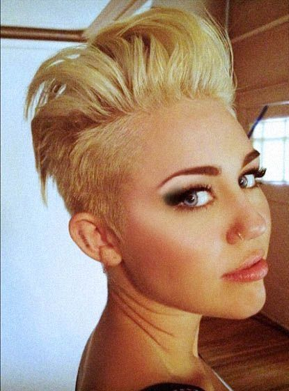cool hair styles for guys 300 best images about miley cyrus on hair 2309