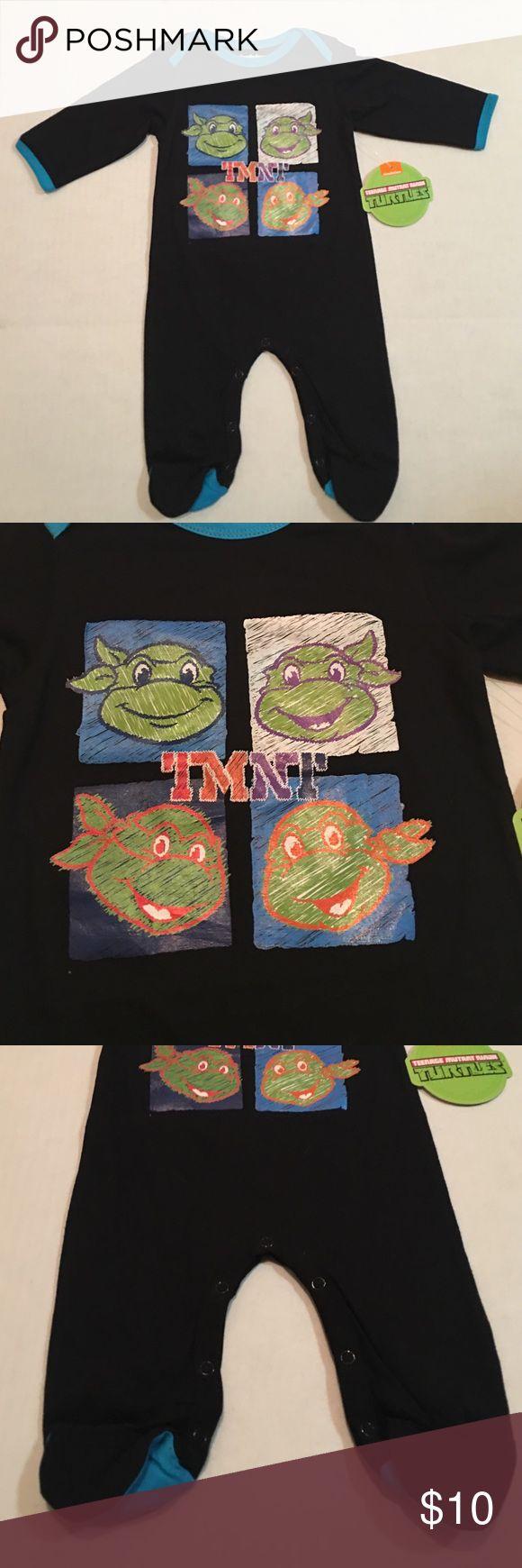 NICKELODEON TEENAGE MUTANT NINJA TURTLES ONESIE NWT Nickelodeon Pajamas