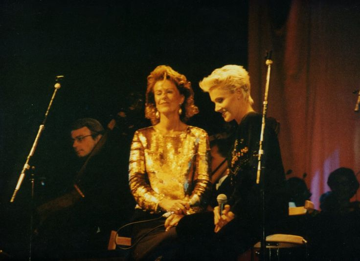 Frida with Marie Fredriksson(Roxette)