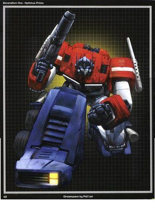 Generation One Optimus Prime Dreamwave By Pat Lee Page 112 Photo by Juci_Shockwave | Photobucket