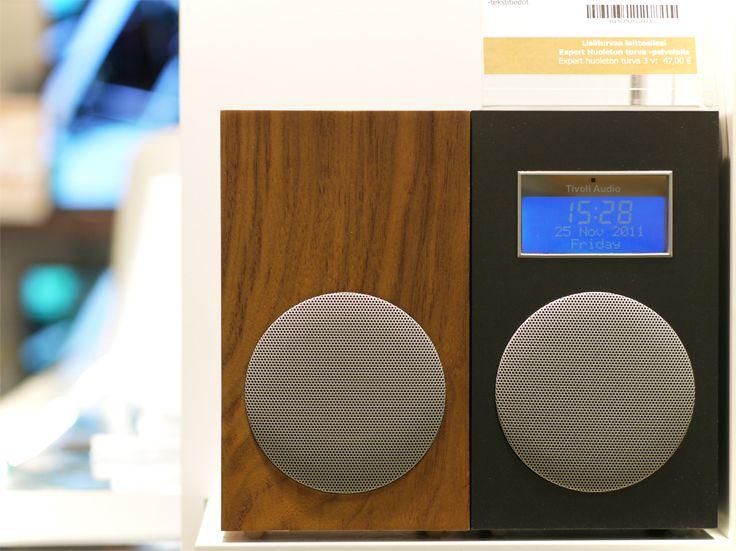Tivoli Audion radiot ovat klassisen tyylikkäitä ja laadukkaita! #tivoliaudio #expertfi