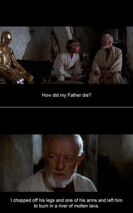 Don't sugar coat it | Star Wars