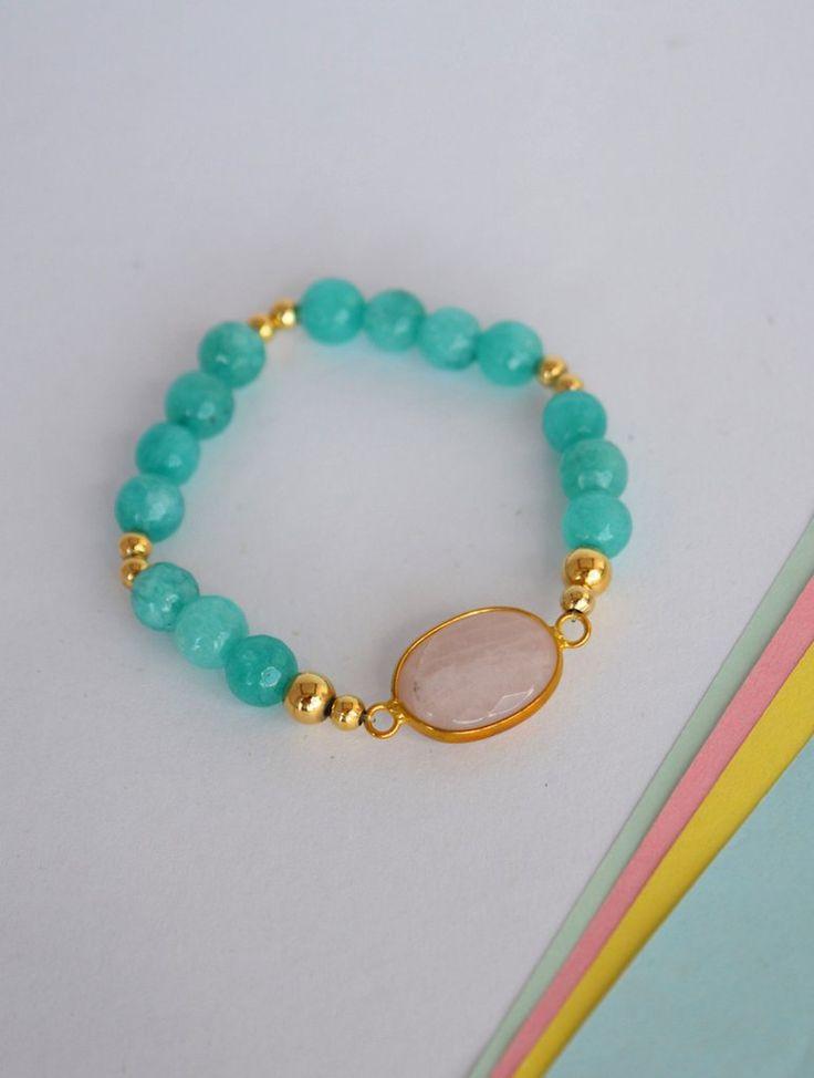 Bracelet-Aguamarine-Amarone