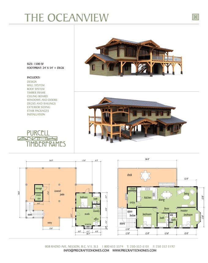 the oceanview cottage - Ocean View Homes Floor Plans