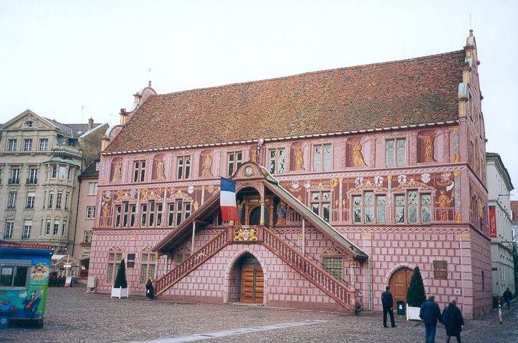 Mulhouse hotel de ville - Haut-Rhin — Wikipédia