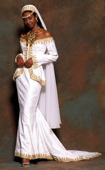 Ancient Hebrew Israelites | Gown by Therez Fleetwood -African Inspired Wedding Dress  Even this wedding dress like kebaya!