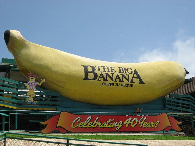 We thought it was terrible, lol. The Big Banana, Coffs Harbour, NSW