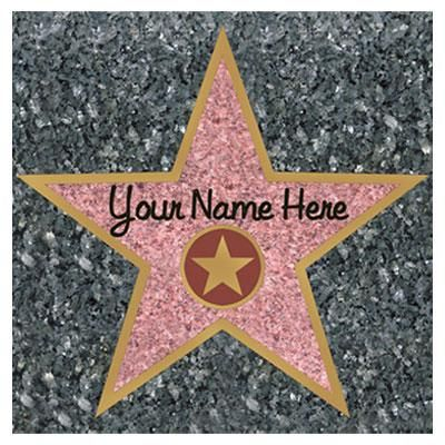 old+movie+theme+party | walk of fame stars create your own fame walk use on most smooth ...