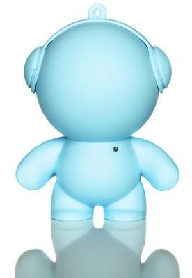 Baby Blue Mini Monster Speaker - Little speakers with BIG sound! These little guys are perfect for BBQ's, garden parties, or anywhere else you might need portable music. Available in lots of colours.