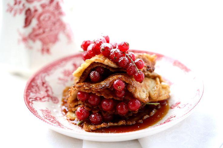 Nyttiga pannkakor med dinkel | Recept.nu