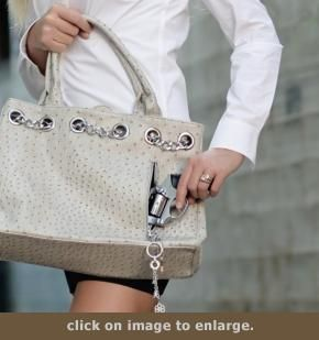 """Concealed Carry Purse - This is the super cool, ultra trendy """"Nicole"""" bag sold at www.GunHandbags.com, where low prices rule."""
