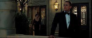 James Bond: Casino Royale (2006). Starring Daniel Craig and Eva Green